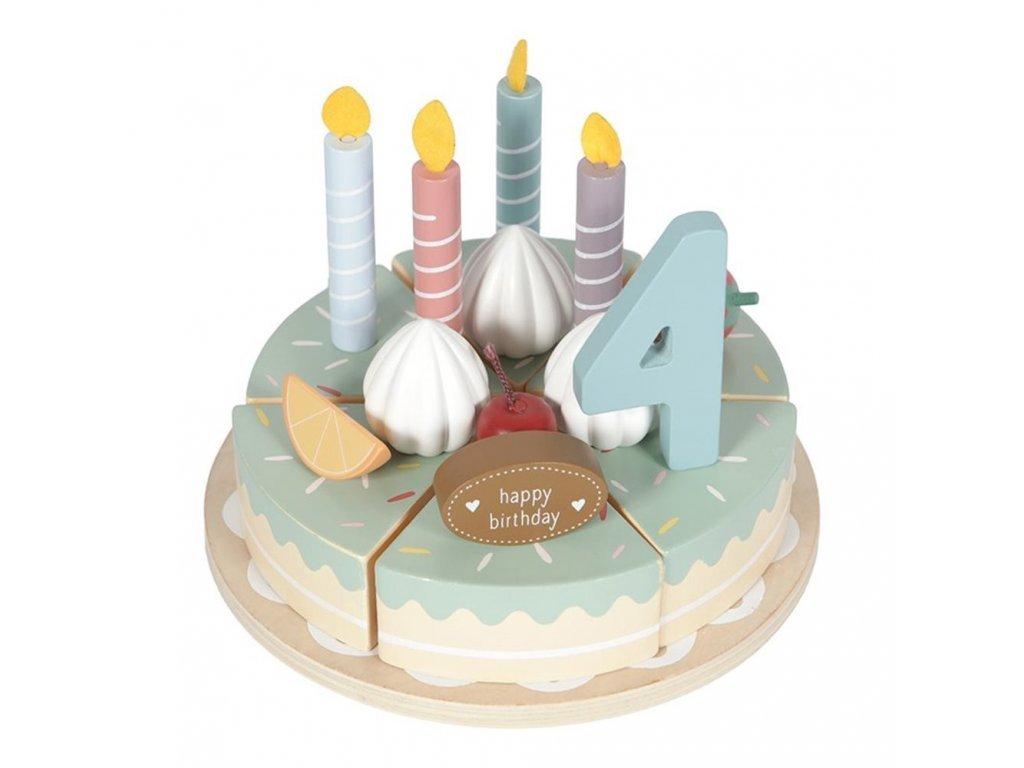 Little Dutch Drevený tortu XL