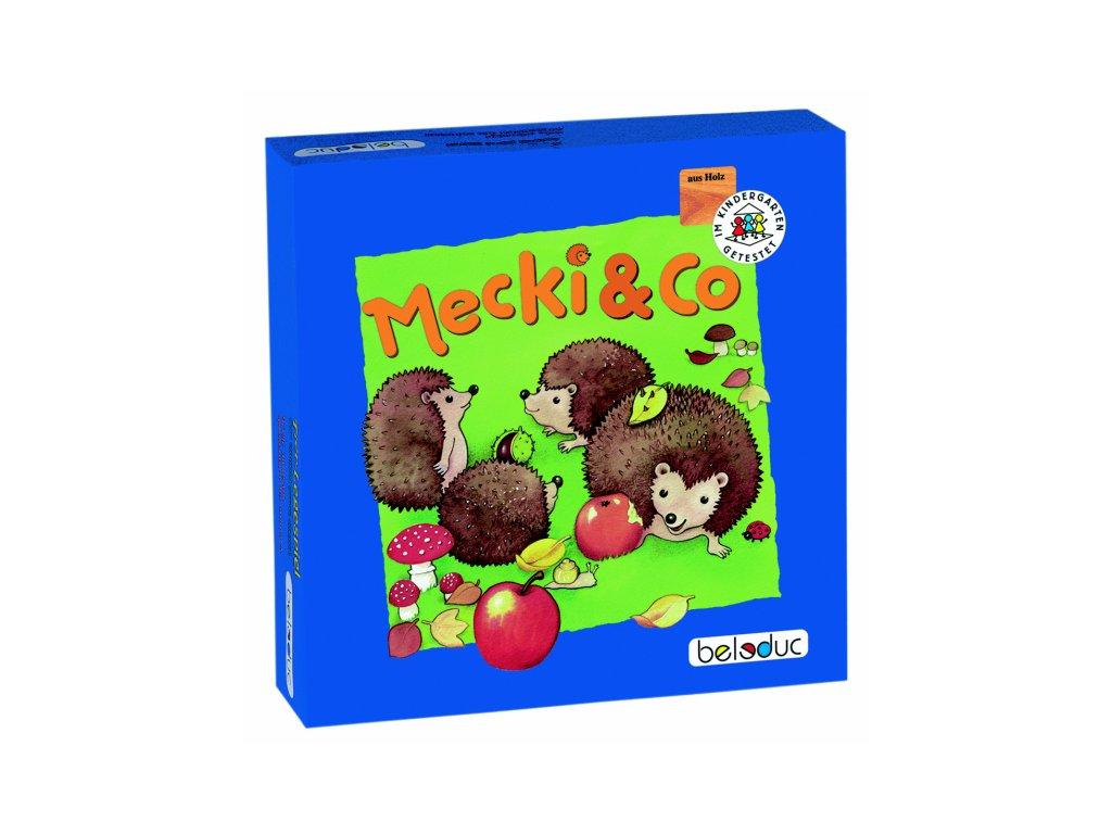 Beleduc Stolná hra Mecki & Co.