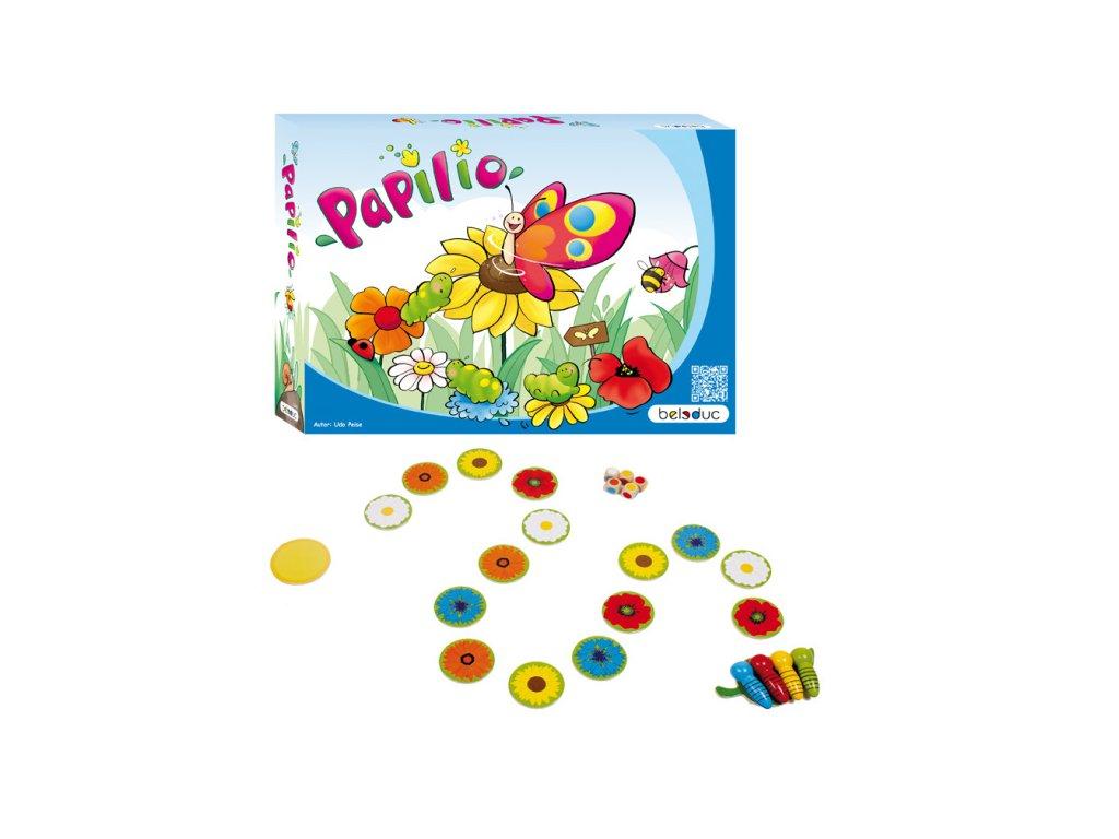 Beleduc Stolná hra PAPILIO