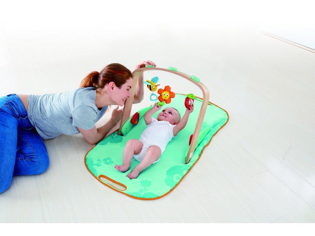 Hape Interaktívna podložka pre bábätká