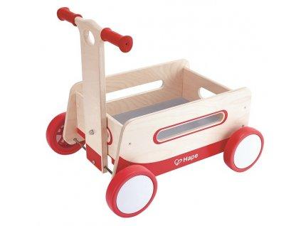 Hape Drevené chodítko - vozík
