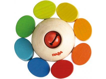 Haba Drevené hryzátko farbičkami