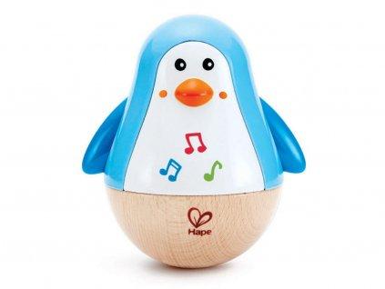 Hape Hudobná hračka Tučniak