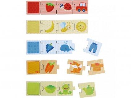 Haba Drevené puzzle na učenie farieb