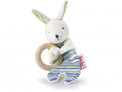Käthe Kruse Zajíček Buddy - dřevěný kroužek