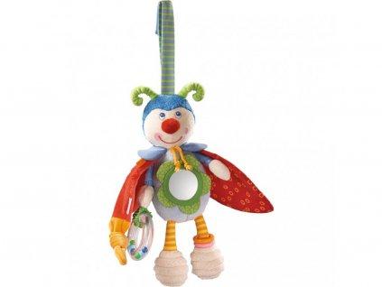 Haba textilné taktilné hračka Chrobáčik Bodo