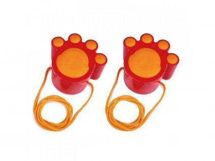 Hape Mačacie tlapičky - červené