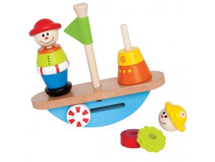 Hape Rovnovážna loďka