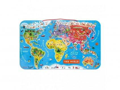 Janod Magnetická mapa sveta