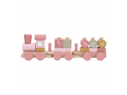 4479 wooden train adventure pink