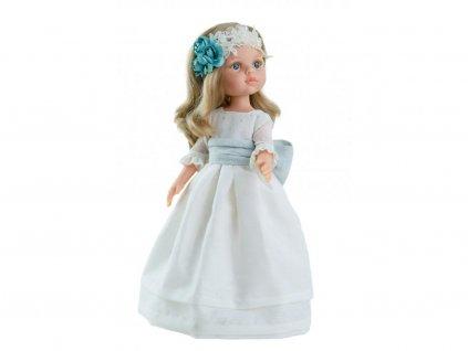 Bábika Paola Reina Carla v bielom