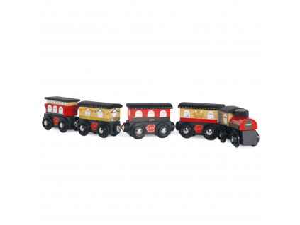 TV710 Red Trains Royal Express Set