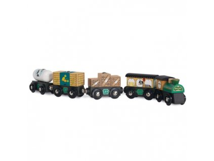 TV711 Green Trains Cargo Set