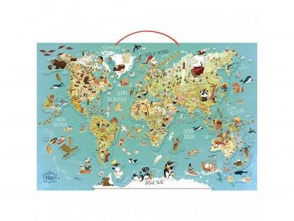 Vilac Magnetická mapa sveta