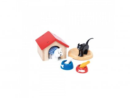 Le toy Van Zvieratá do domčeka pre bábiky