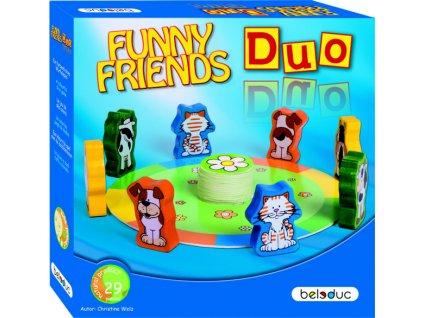 Beleduc Stolná hra Dvojica zvieratiek