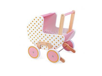 J05886 Janod Dreveny kocik pre babiky Candy Chic 01