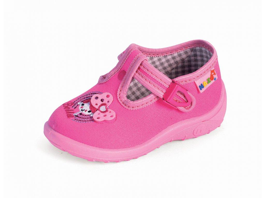 7fae4c47c Plátenky, papučky alebo prezúvky N-013GB - Žirafa Detská obuv