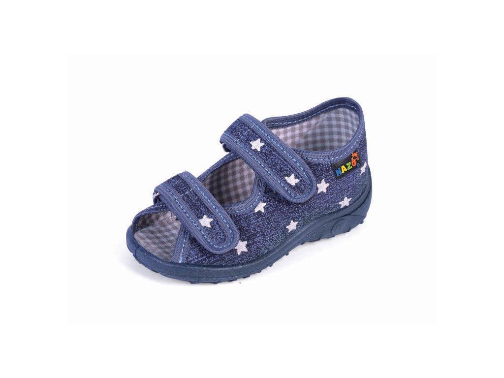 8d9922872 Domáca obuv, prezúvky N-010BB - Žirafa Detská obuv