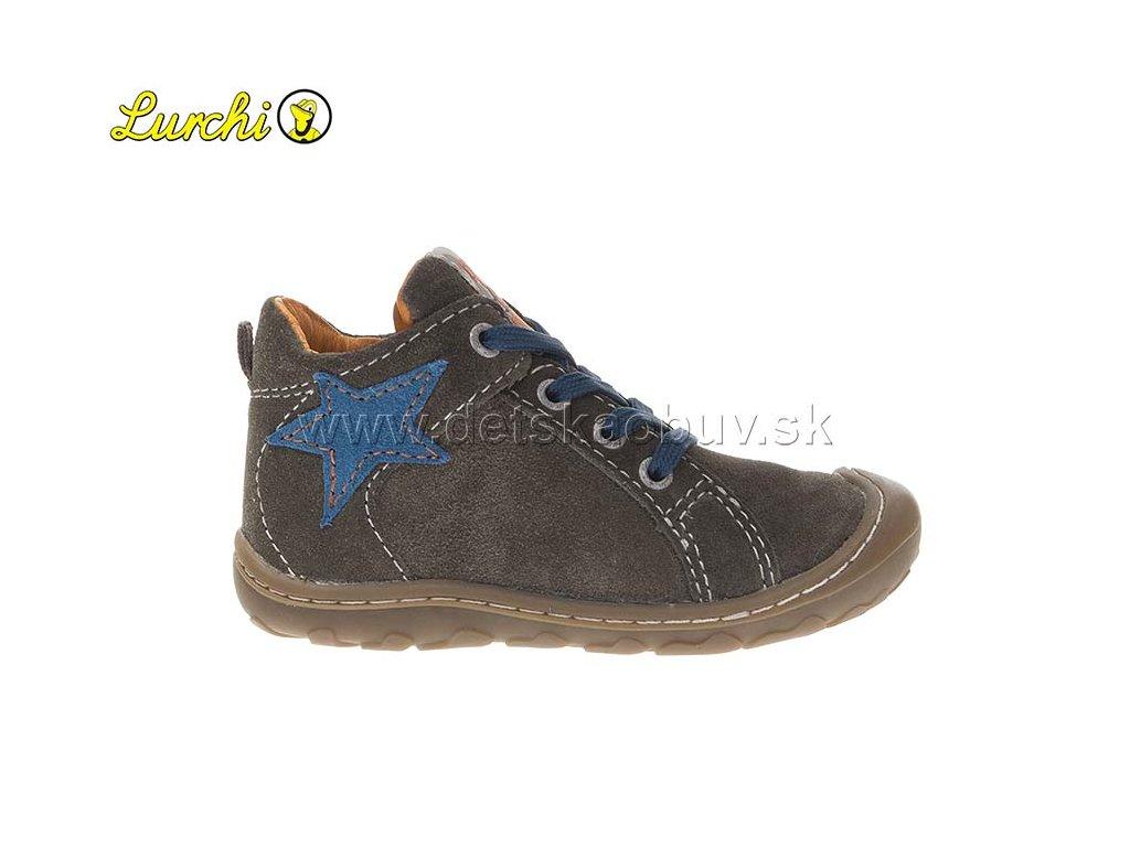 1be32db8f12 PRECHODNÉ TOPÁNKY LURCHI 33-14439-47 - Žirafa Detská obuv