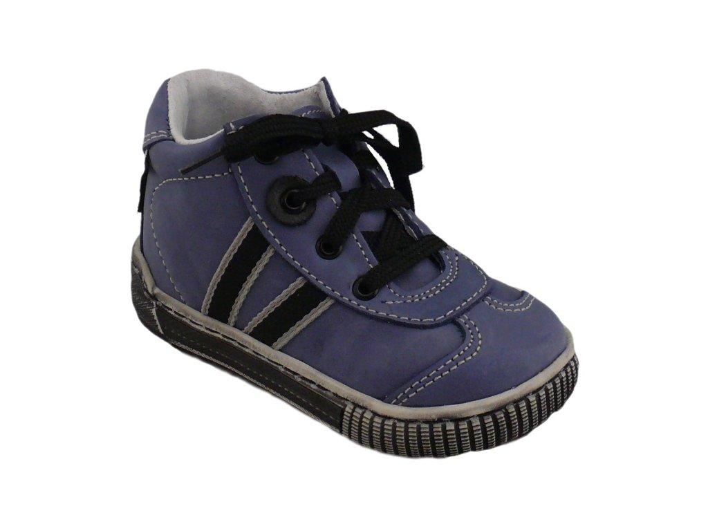 Detské prechodné topánky Pegres 1401 Elite modré - Žirafa Detská obuv e1438b9aed6