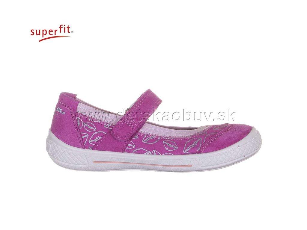 cf02ec129994 DETSKÉ BALERÍNKY SUPERFIT 2-00105-64 TENSY - Žirafa Detská obuv