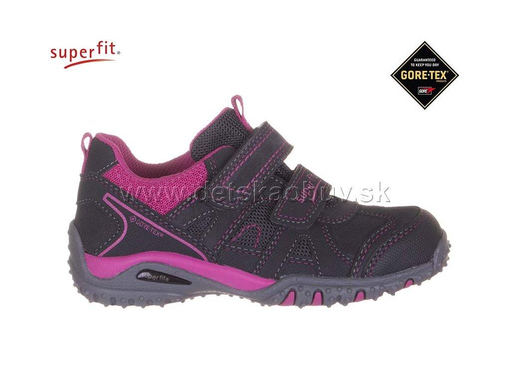 GORE-TEX TENISKY SUPERFIT 3-09225-21 SPORT4 - Žirafa Detská obuv e59aa22431