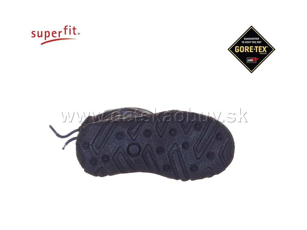 79e9c2005437 ZIMNÁ GORE-TEX OBUV SUPERFIT 8-09047-81 HUSKY 1 - Žirafa Detská obuv
