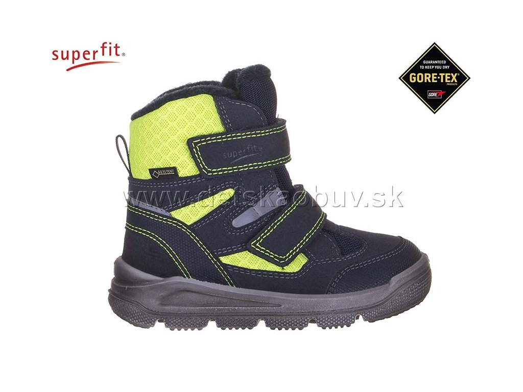 ZIMNÁ GORE-TEX OBUV SUPERFIT 3-09078-80 MARS - Žirafa Detská obuv 3edd6c3e704