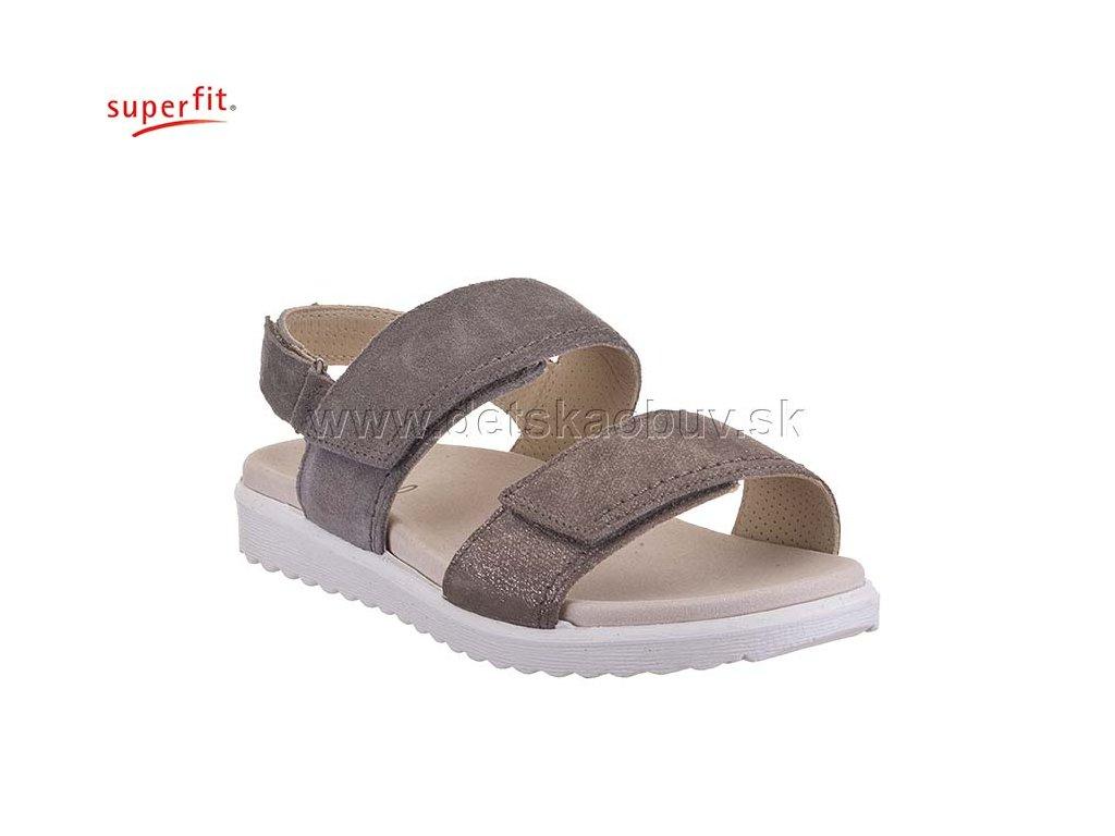 ac1baae8665e0 DÁMSKE SANDÁLE SUPERFIT-LEGERO 4-00708-24 SAVONA - Žirafa Detská obuv