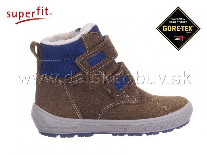 ZIMNÁ GORE-TEX OBUV SUPERFIT 5-06308-30 GROOVY