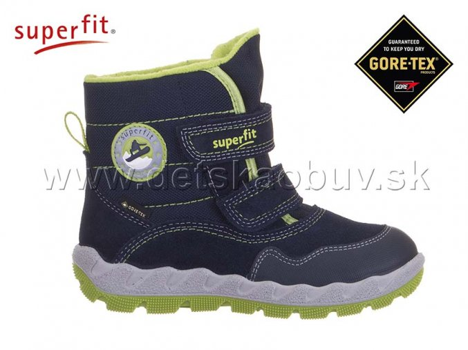 ZIMNÁ GORE-TEX OBUV SUPERFIT 8-09013-80 ICEBIRD