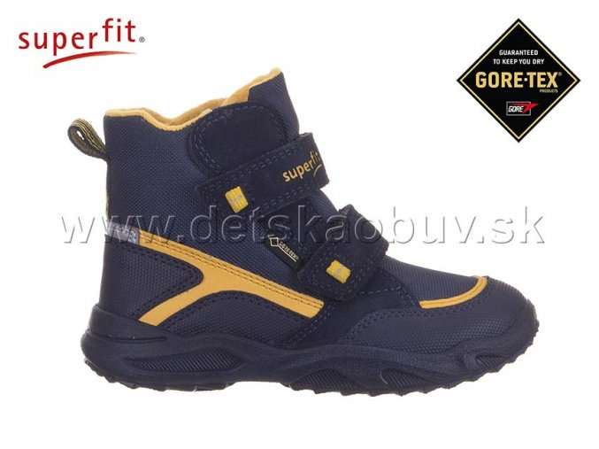 ZIMNÁ GORE-TEX OBUV SUPERFIT 5-09235-81 GLACIER