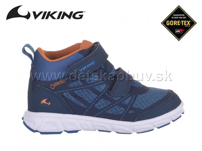 GORE-TEX TENISKY VIKING 3-47305-574 VEME MID GTX NAVY/DENIM