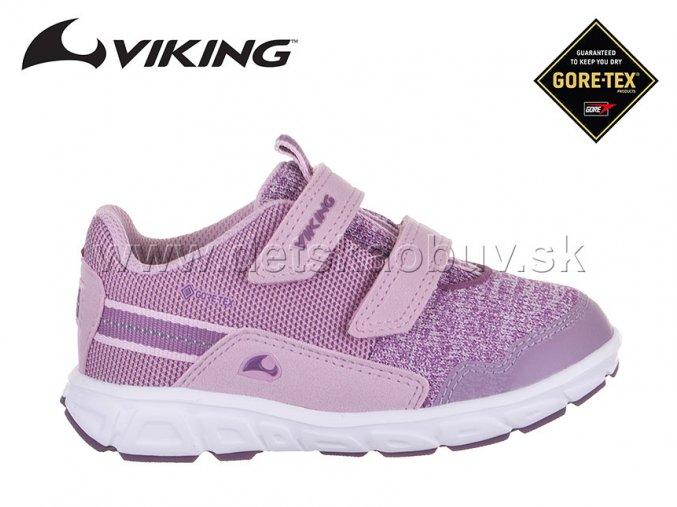 GORE-TEX TENISKY VIKING 3-50000-921 RINDAL VIOLET/PINK