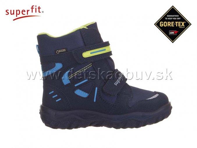 ZIMNÁ GORE-TEX OBUV SUPERFIT 0-809080-8000 HUSKY