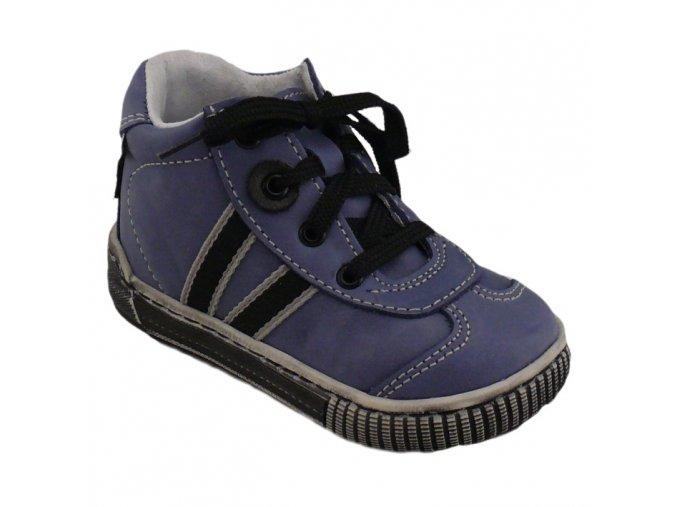 Detské prechodné topánky Pegres 1401 Elite modré