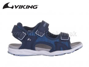 LETNÁ OBUV VIKING 3-43730-5605 ANCHOR - LIGHT BLUE/NAVY