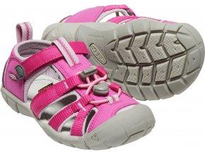 Keen sandále seacamp II very berry/dawn pink
