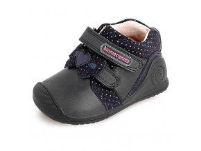 Celokožené topánky Biomecanics 201109 Azul marino