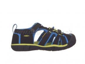Keen sandále seacamp II -black/brilliant blue