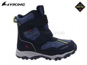 ZIMNÁ GORE-TEX OBUV VIKING 3-82500-510 NAVY/Red