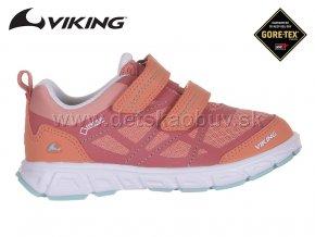 GORE -TEX TENISKY VIKING 3-47300-5154 CORAL/MINT