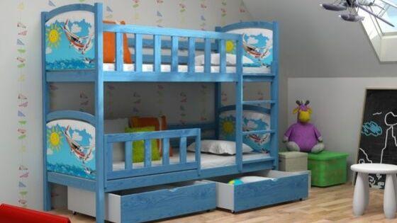 Ako vybrať poschodovú posteľ do detskej izby: Návod v 3 krokoch