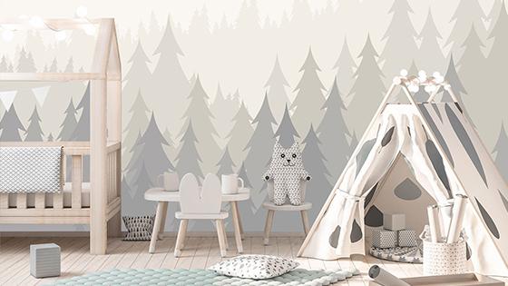 Tapety do detskej izby – inšpirácie