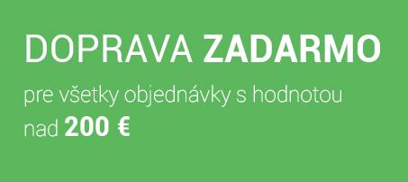 Doprava zadarmo pre objednávky nad 200 Eur