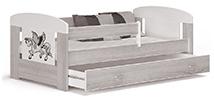 Detské postele so zábranou