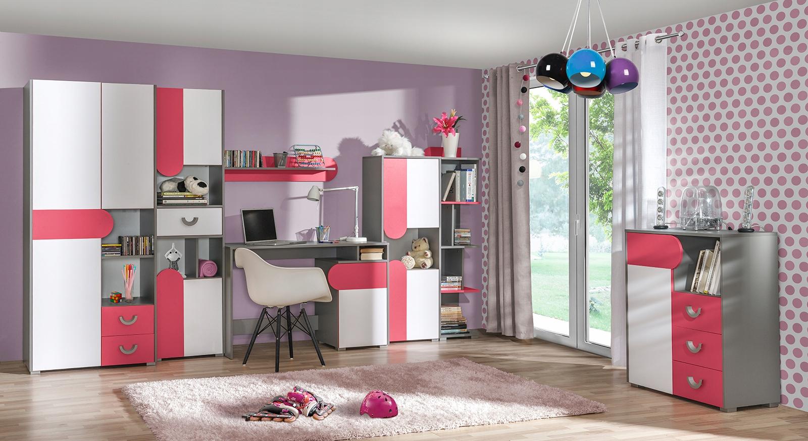 Detská izba FOMA 1- malinová