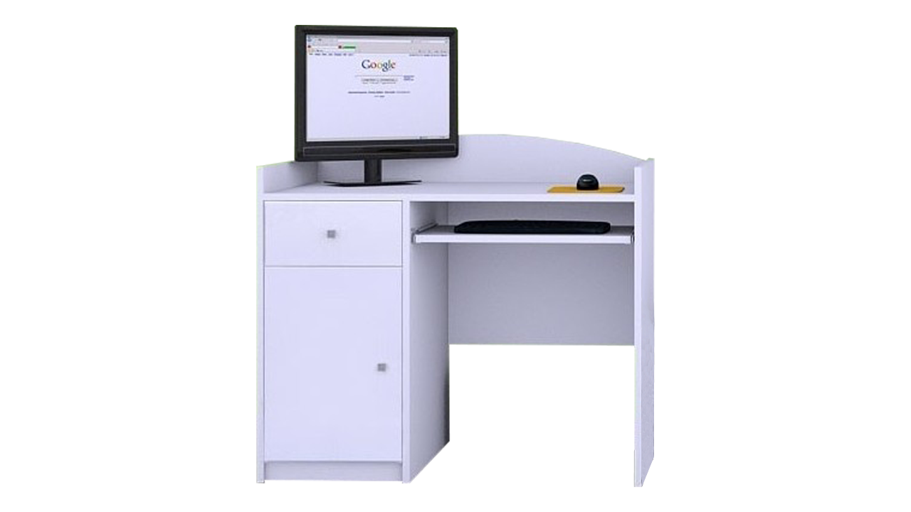 Písací stôlMery biely B09