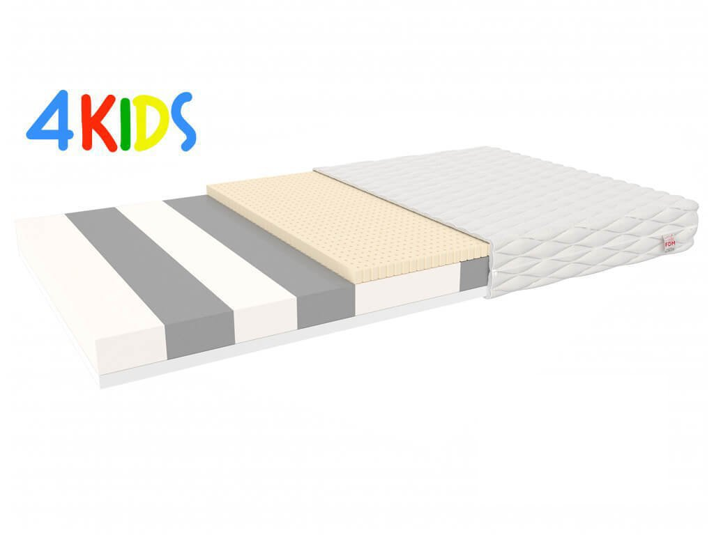 Corela penový matrac s latexom 140x80